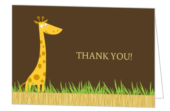 First Birthday Thank You Card Wording, Messages, Sayings