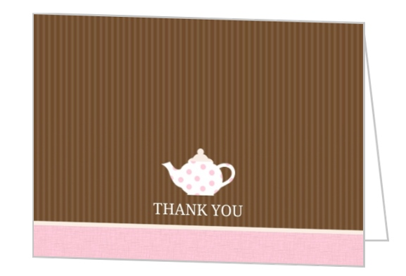 first birthday thank you card wording messages sayings - First Birthday Thank You Cards