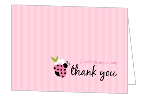 First Birthday Thank You Card Wording Ideas, Etiquette For