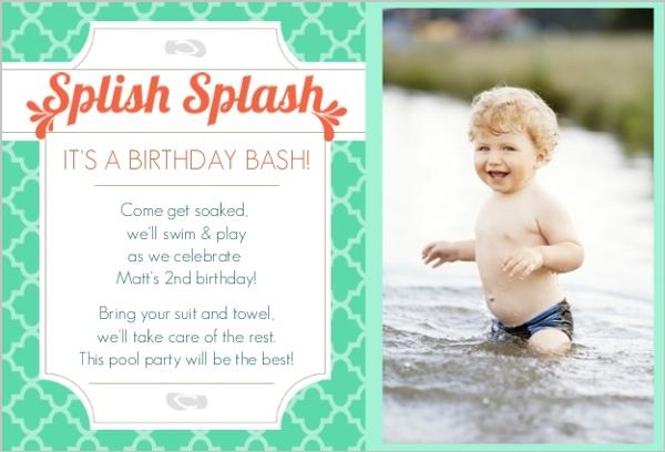 Summer First Birthday Ideas Pool Party Theme Beach